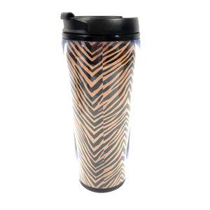 Vera Bradley Travel Mug Zebra Animal Print 16oz